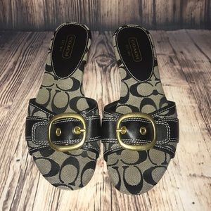 Coach Rubey Signature Sandals